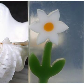 26 Aromatherapeutische Naturseife / Duftseife Margerite mit Mandelöl
