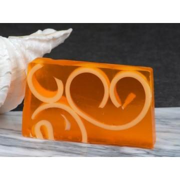 22 Aromatherapeutische Naturseife / Duftseife Mandarine mit Ingwer
