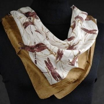 1475 Leichtes Tuch mit Libellen Print