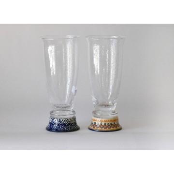 Bunzlauer Keramik 54/59 BIERGLAS 2Stk