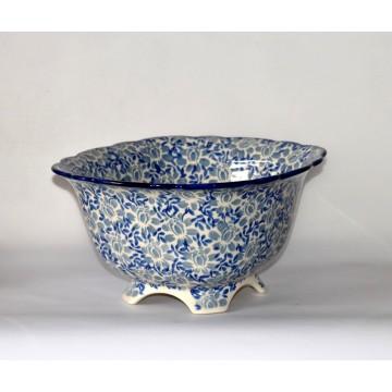 Bunzlauer Keramik 50/95M Schüssel mit Durchschlag