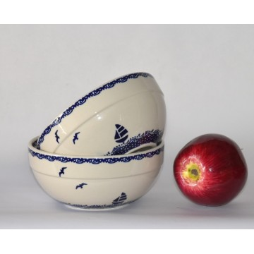 Bunzlauer Keramik 45A/95M SCHÜSSEL 2Stk
