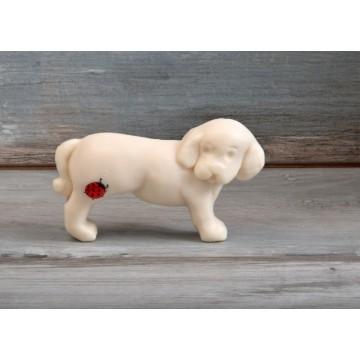 """Dekorative natürliche Seife """"kleiner Hund"""", 50g"""